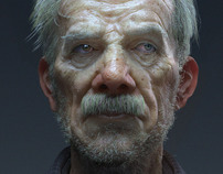 An elderly curmudgeon