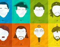 Faces Series Redux