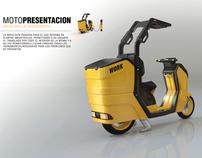 Moto electrica WORK