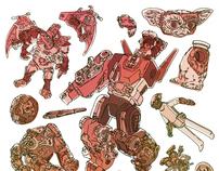 Childhood Toy - Screen Print