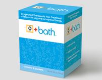O+Bath™ Bath Salts Packaging