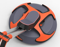 MEDUSA ERGONOMIC HOVERCRAFT LAWNMOWER