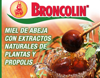 Broncolin Package and Display