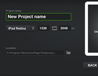 CoverPage 2 User Interface update