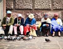Na linha do Equador