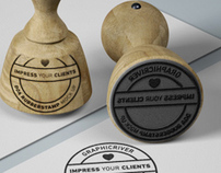DOA Rubber Stamp & Stationery Mock Up