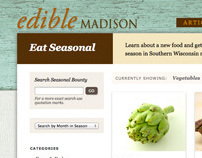 Edible Madison Website