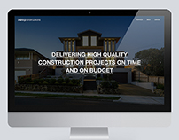 Clancy Constructions Showcase Website