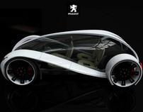 Car Design for Peugeot