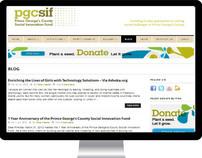 Web | PGCSIF Responsive Blog Design