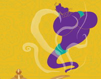 STAGES ST. LOUIS' Theater Logo: Aladdin