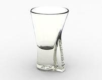 LIQUEUR GLASS FOR BECHEROVKA