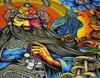 The Sage: Fine Art illustration