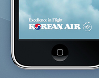 Korean Air : mobile app proposal