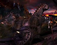 Troy Scene 3D