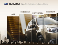 Subaru : website proposal