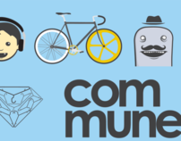 Commune: May event poster