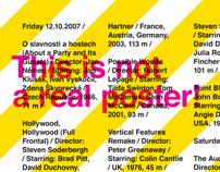 Film Sokolov 07 Festival Poster