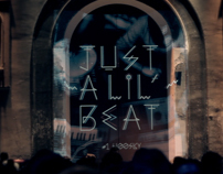 Just a lil'beat #1 Release Party at the  CAFE A Paris