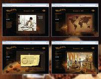 Дизайн-концепция сайта кофейни