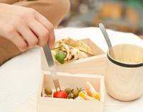 komida. lunchbox set for urban nomads.