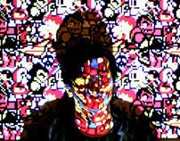8 BIT Projector of Visual Arts