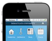 Immaculata University Mobile Web