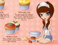 Cupcake flavor chart