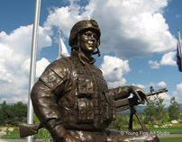 Custom Bronze Military Monuments | Veterans Memorial 1