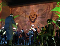Video Mapping + Orchestra + Fireworks