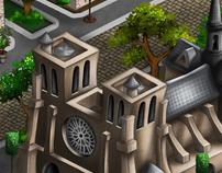 Isometric Video Game Art