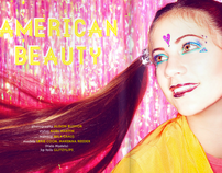 AMERICAN BEAUTY - RE: Magazine published spread
