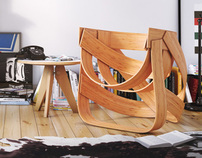 Bamboestoel Chair by Remy & Veenhuizen