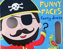 Funny Faces: Pop-Up Board Books