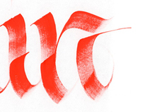 Random Calligraphy
