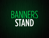 BANNERS STAND