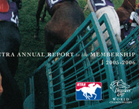 NTRA/Breeders Cup Annual Report Cover - 2006