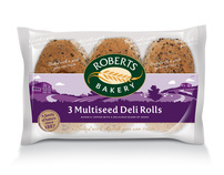 Roberts Bakery rolls packaging