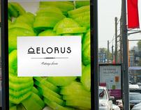 DELORUS catering service / logo & identity