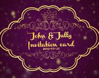 Vintage Invitation Card Opener
