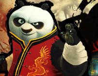 Kung Fu Panda - Fully Animated UI