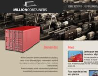 Million Containers Website