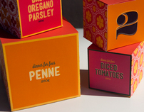 Uno Due Tre - Branding, Packaging design + advertising