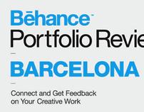 Behance Portfolio Reviews Visuals set