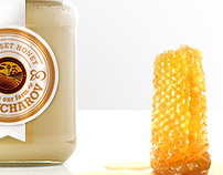 Gruncharov Honey Labels