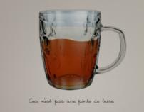 Ceci n'est pas d'un pinte de biere