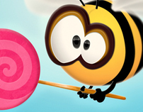 Lollipop Bee