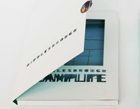 Lamp Life of Middlesbrough. Artist book about territory