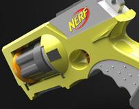 Solidworks Nerf Gun