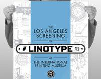 Linotype: The Film – Los Angeles Screening Promotion